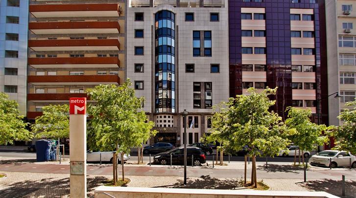 Lissabon, Hotel Sana Reno Style, Façade hotel