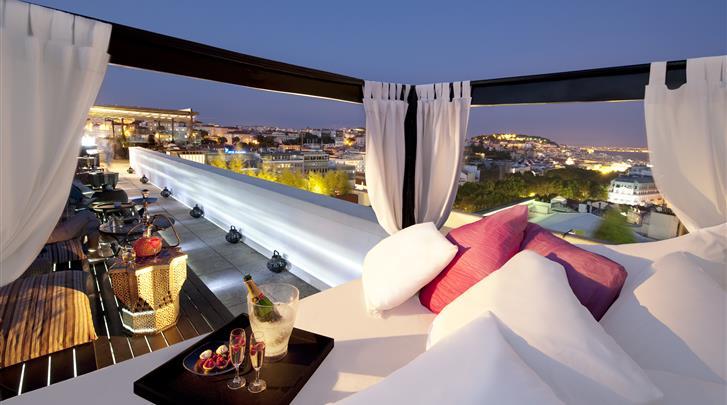 Lissabon, Hotel Tivoli Avenida Liberdade, Skybar