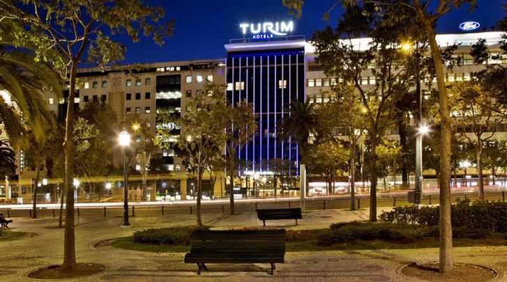 Lissabon, Hotel Turim Avenida da Liberdade, Façade hotel