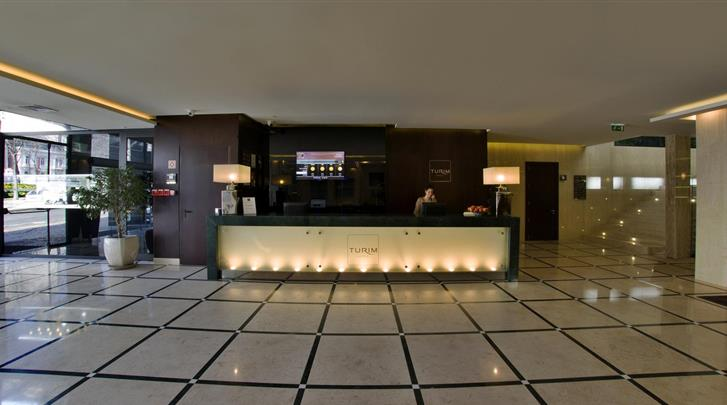 Lissabon, Hotel Turim Avenida da Liberdade, Receptie