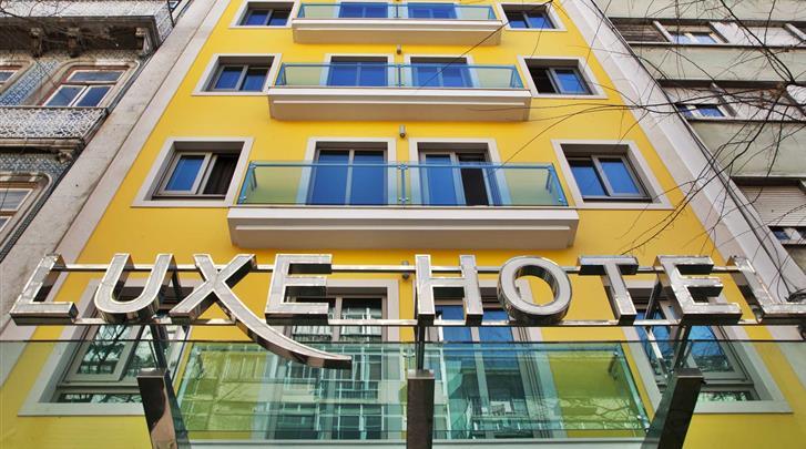 Lissabon, Hotel Turim Luxe, Façade hotel