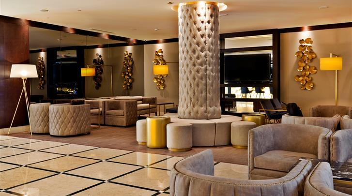 Lissabon, Hotel Turim Marques, Lobby