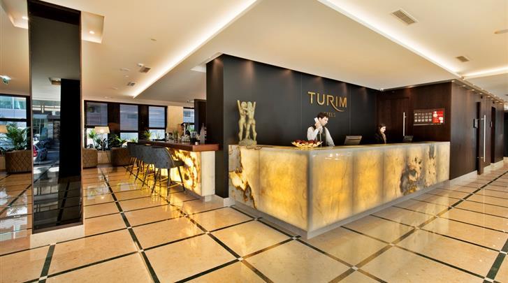 Lissabon, Hotel Turim Marques, Receptie