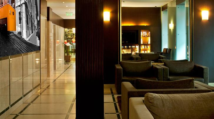 Lissabon, Hotel Turim Restauradores, Lobby