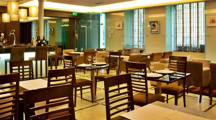 Lissabon, Hotel Turim Restauradores, Ontbijtrestaurant
