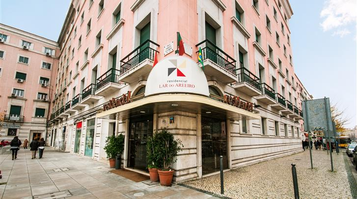 Lissabon, Residencial Lar Do Areeiro, Façade hotel