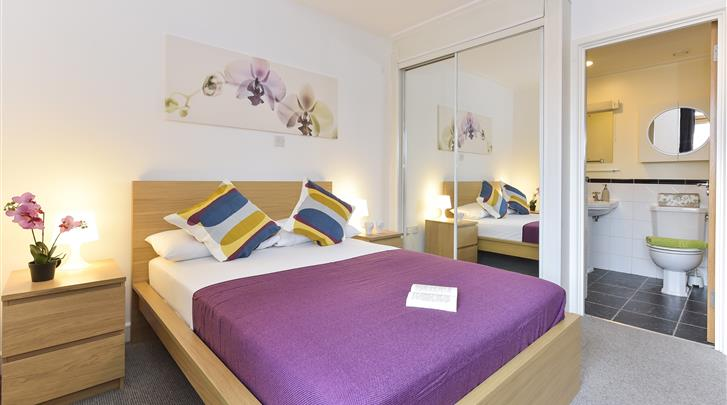 Londen, Apartments Aldgate, Appartement slaapkamer