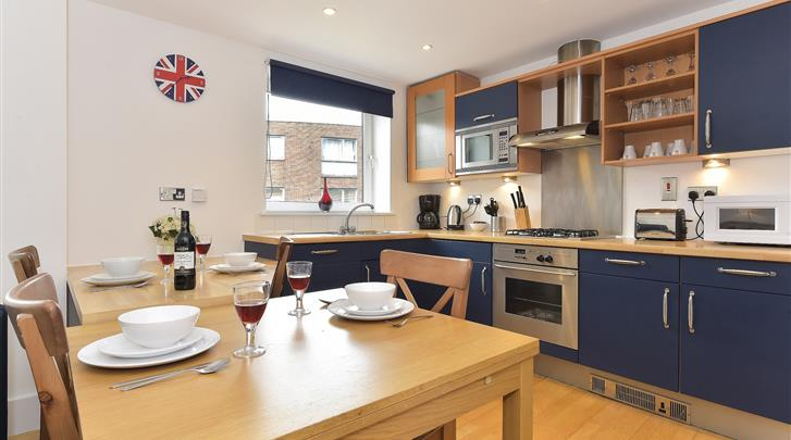 Londen, Apartments Camden Area, Appartement keuken