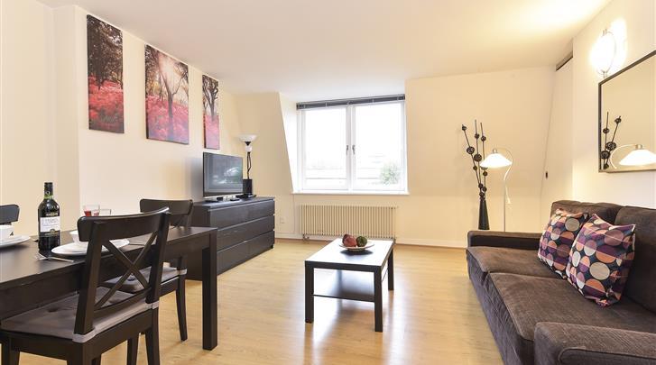 Londen, Apartments Camden Area, Appartement woonkamer