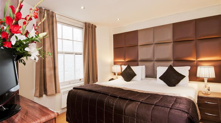 Londen, Hotel Grand Plaza, 2-kamerappartement
