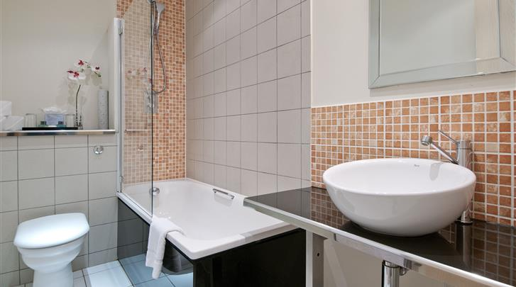 Londen, Grand Plaza Serviced Apartments, Badkamer