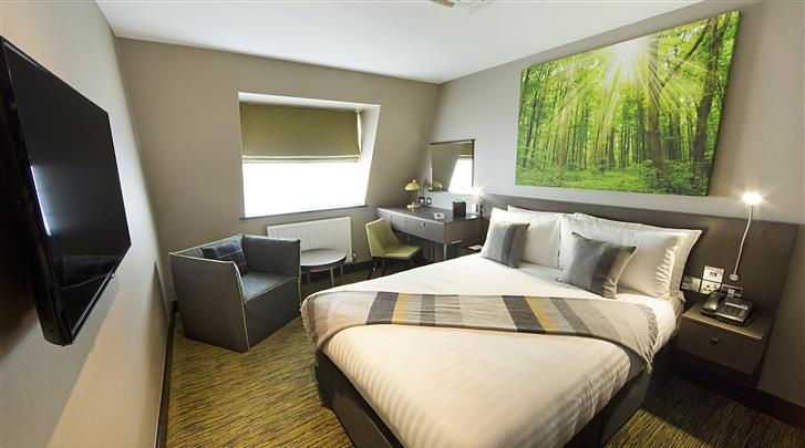Londen, Hotel Arbor City, Standaard kamer
