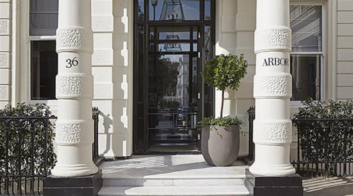 Londen, Hotel Arbor Hyde Park, Façade hotel