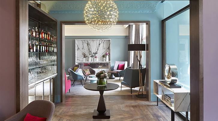 Londen, Hotel Arbor Hyde Park, Lobby
