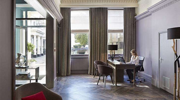 Londen, Hotel Arbor Hyde Park, Receptie