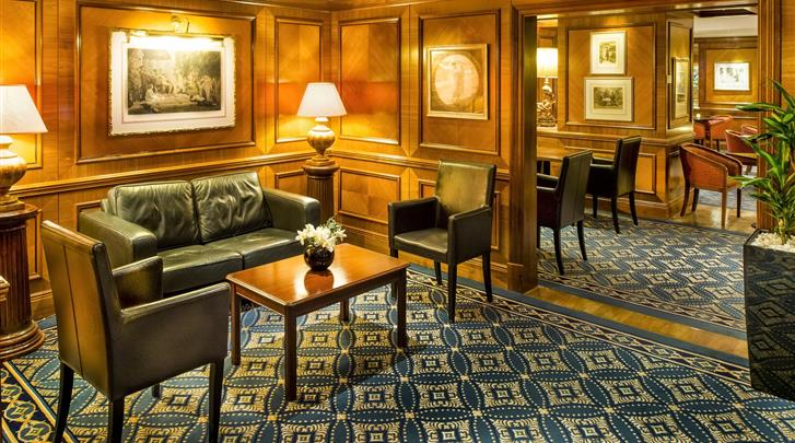 Londen, Hotel Copthorne Tara, Lounge