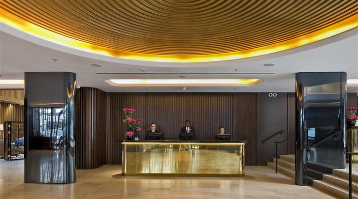 Londen, Hotel Dorsett Shepherds Bush, Receptie