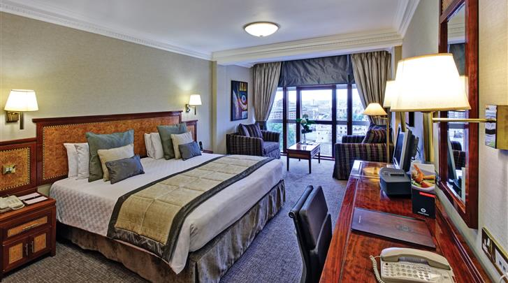 Londen, Hotel Leonardo Royal London City, Executive kamer