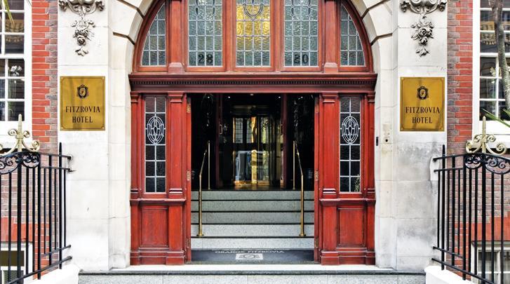 Londen, Hotel Grange Fitzrovia, Façade hotel