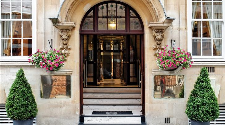 Londen, Hotel Grange Rochester, Façade hotel