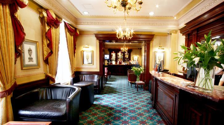 Londen, Hotel Grange Whitehall, Receptie