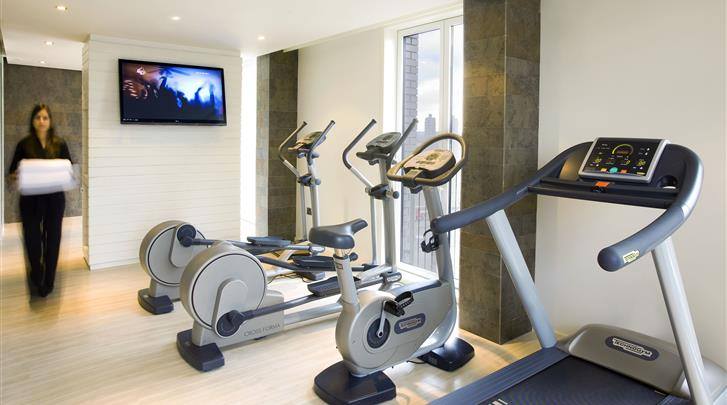 Londen, Hotel H10 London Waterloo, Fitnessruimte