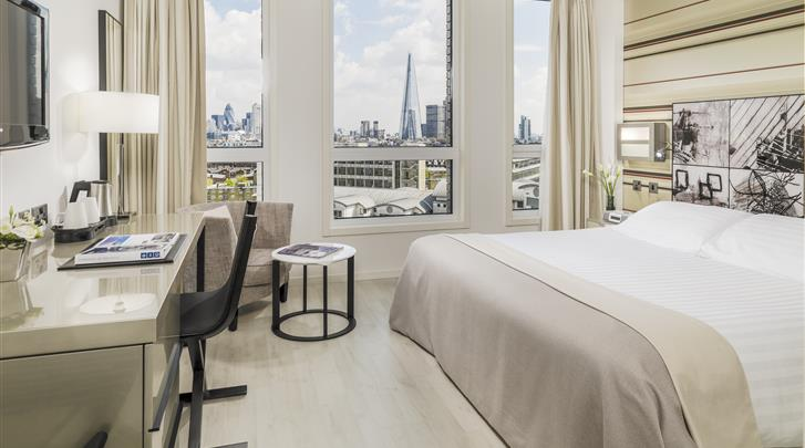 Londen, Hotel H10 London Waterloo, Standaard kamer