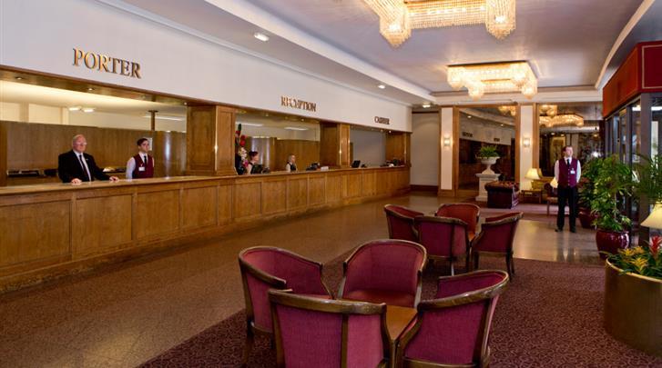 Londen, Hotel Imperial, Receptie