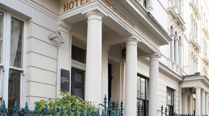Londen, Hotel Kensington Gardens, Façade hotel