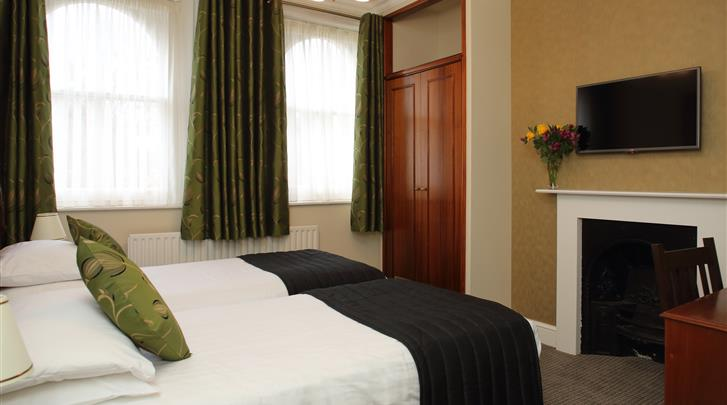 Londen, Hotel Kensington Gardens, Standaard kamer
