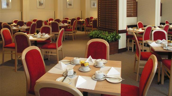Londen, Hotel Lancaster Hall, Ontbijtrestaurant
