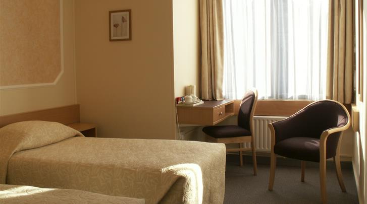 Londen, Hotel Lancaster Hall, Standaard kamer