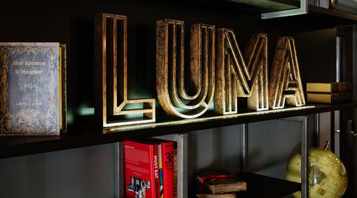 Londen, Hotel Luma Concept, Receptie
