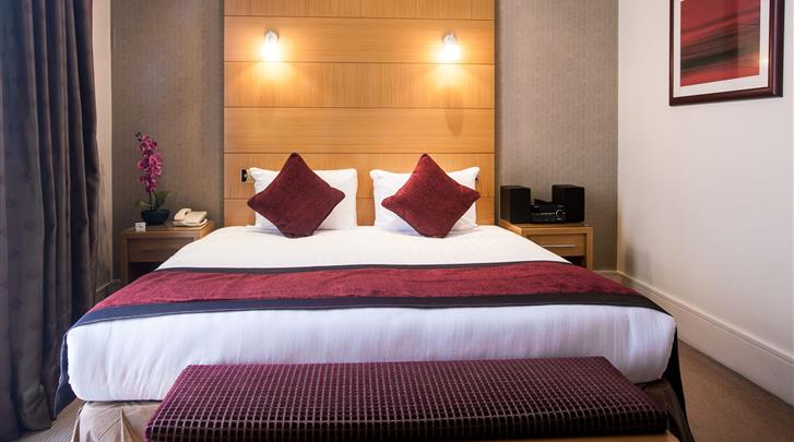 Londen, Hotel Park City Grand Plaza Kensington, Grand Deluxe kamer