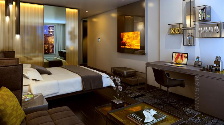 Londen, Hotel Park Plaza Waterloo, Superior kamer