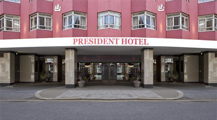 Londen, Hotel President, Façade hotel