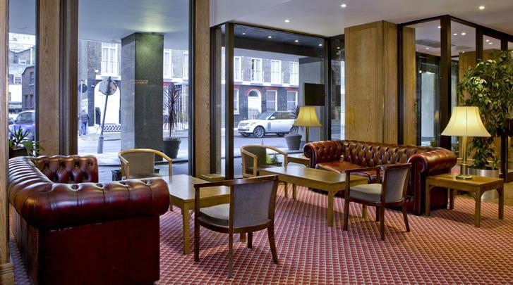 Londen, Hotel President, Lobby