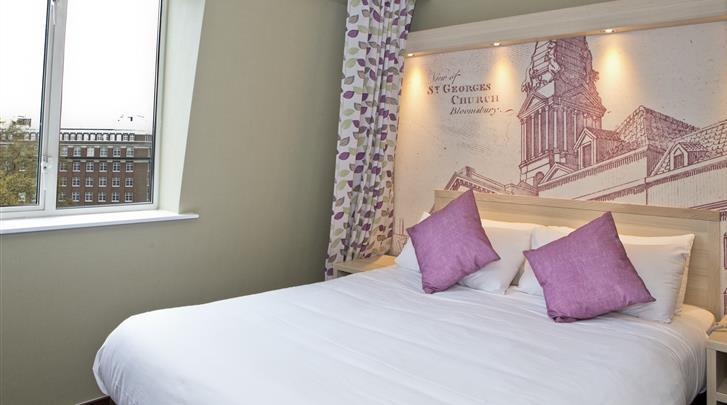 Londen, Hotel President, Standaard kamer