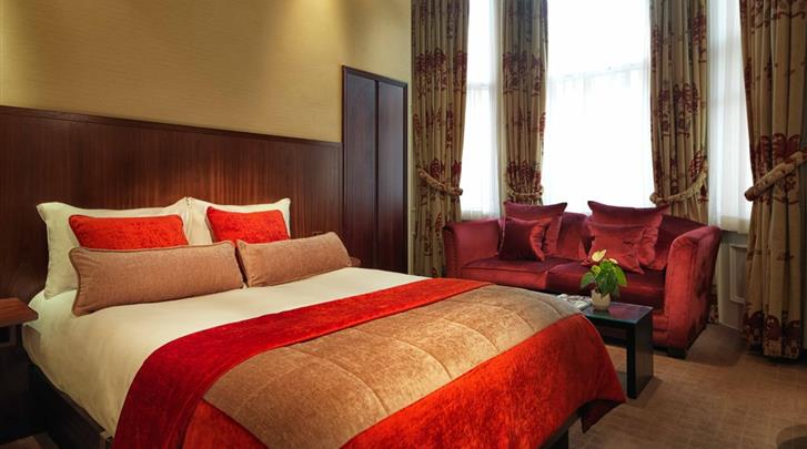 Londen, Hotel Radisson Blu Edwardian Vanderbilt, Deluxe kamer