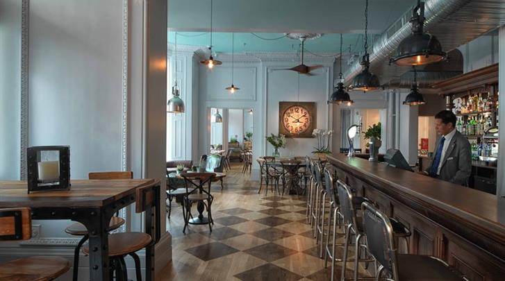 Londen, Hotel Radisson Blu Edwardian Vanderbilt, Hotel bar