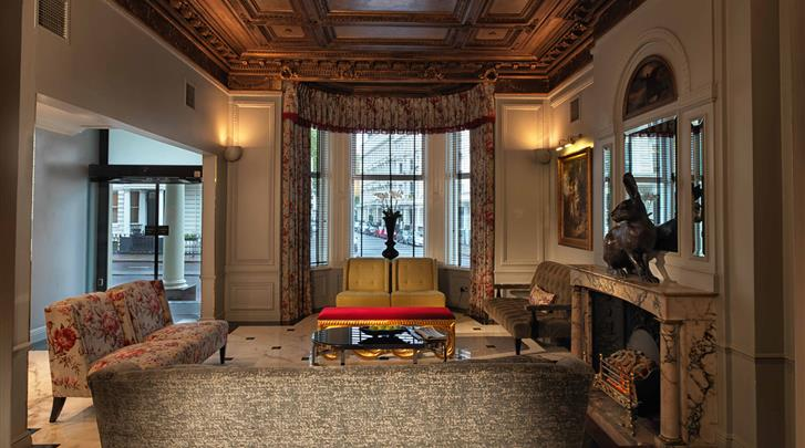 Londen, Hotel Radisson Blu Edwardian Vanderbilt, Lobby
