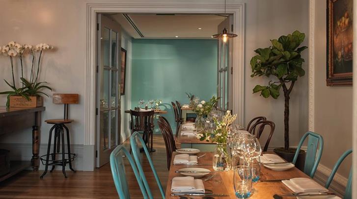 Londen, Hotel Radisson Blu Edwardian Vanderbilt, Restaurant