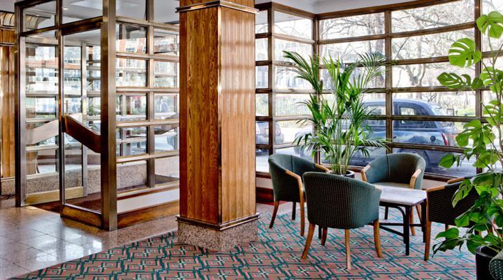 Londen, Hotel Tavistock, Lounge