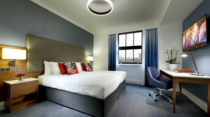 Londen, Hotel The Hard Rock London, Standaard kamer