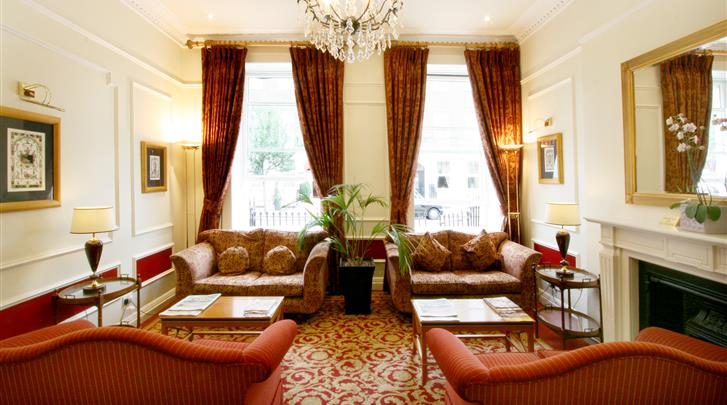 Londen, Hotel The Lancaster, Lounge