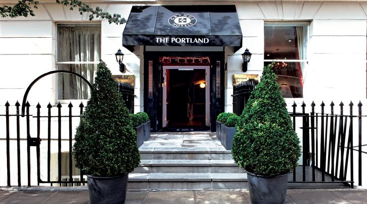Londen, Hotel The Portland