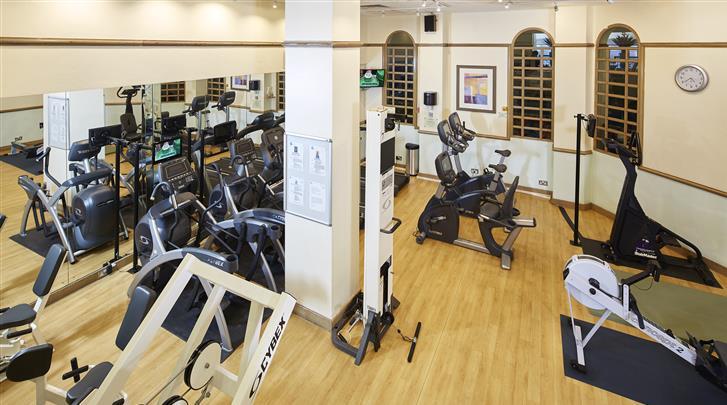 Londen, Hotel The Rembrandt, Fitnessruimte