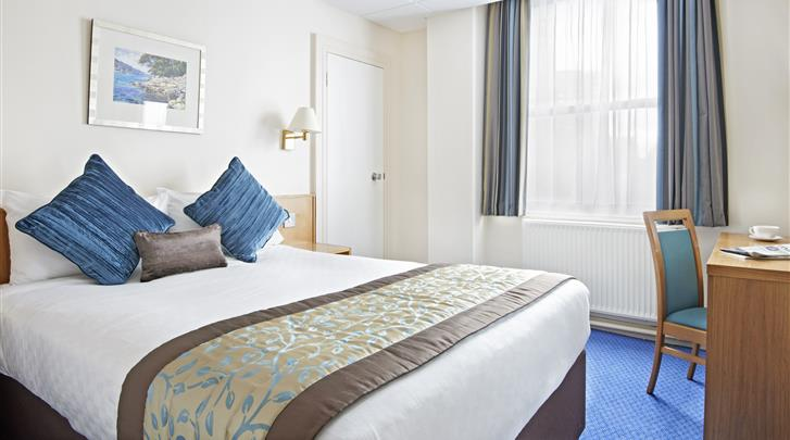 Londen, Hotel Thistle City Barbican, Standaard kamer