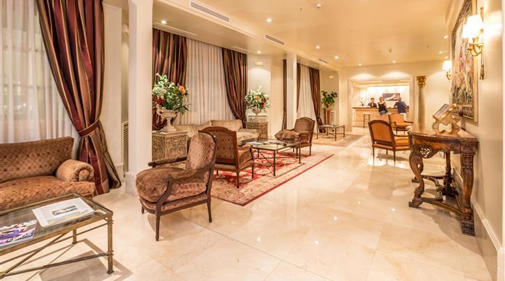 Madrid, Hotel Atlantico , Lobby