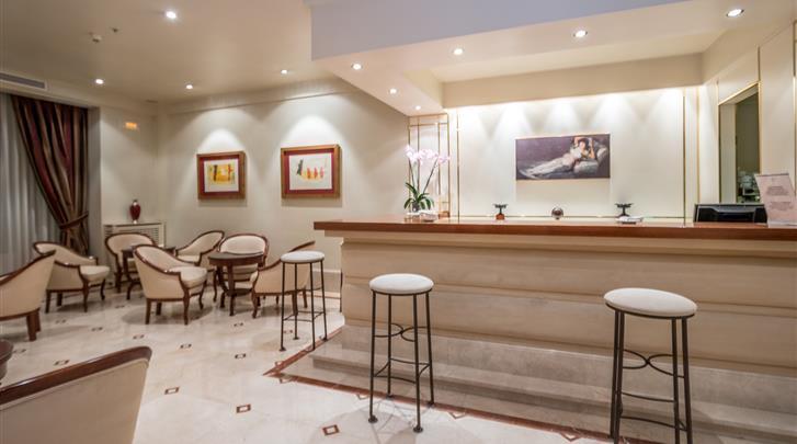 Madrid, Hotel Atlantico , Receptie